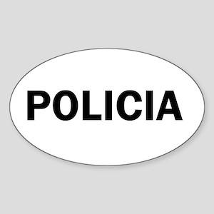 Policia Stickers - CafePress