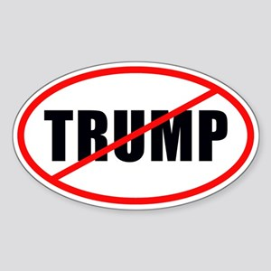 No Trump Sticker