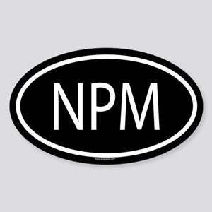 Npm Stickers - CafePress
