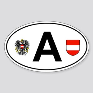 Austria car decal