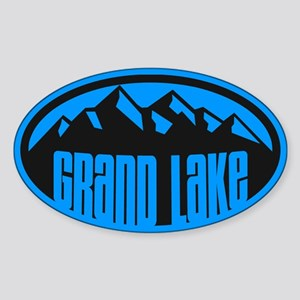 Grand Lake Sticker (Oval)