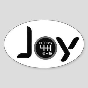 Stick Shift Oval Stickers - CafePress