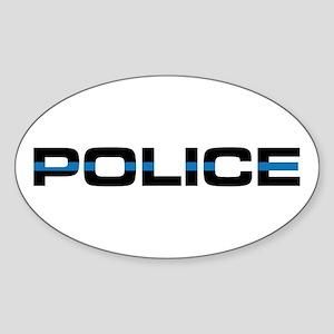 Police Badge Stickers - CafePress