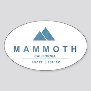 Mammoth Ski Resort California Sticker