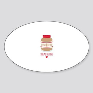 Peanut Butter Love Sticker
