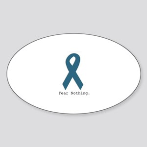 Fear Nothing. Teal Ribbon Sticker