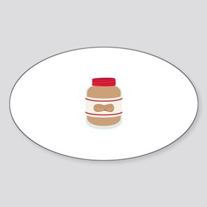 Peanut Butter Jar Sticker