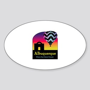 Albuquerque Oval Sticker
