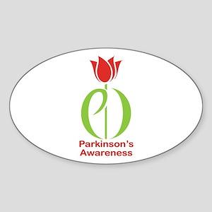 Parkinson's Disease Tulip Sticker