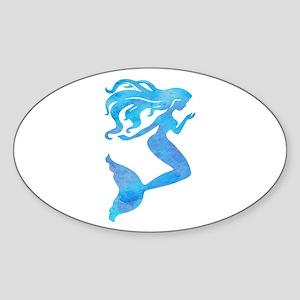 Watercolor Mermaid Sticker