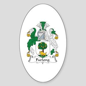 Furlong Oval Sticker