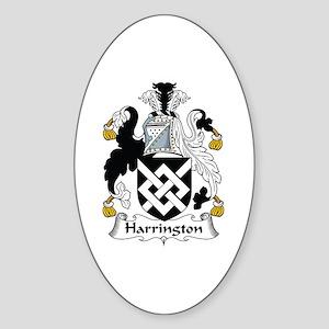 Harrington Oval Sticker