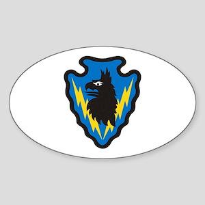SSI-71st Battlefield Surveillance Bde Sticker (Ova