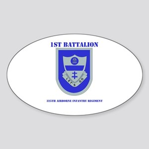 DUI - 1st Bn - 325th Airborne Infantry Regt with T