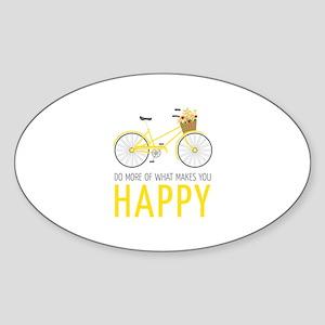 Makes You Happy Sticker