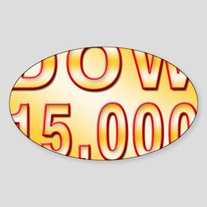 DOW 15000 Sticker (Oval)
