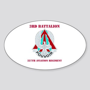 DUI - 3rd Bn - 227th Aviation Regt with Text Stick