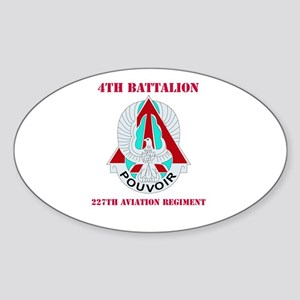 DUI - 4th Bn - 227th Aviation Regt with Text Stick