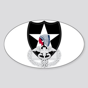 2nd Infantry CFMB Sticker (Oval)