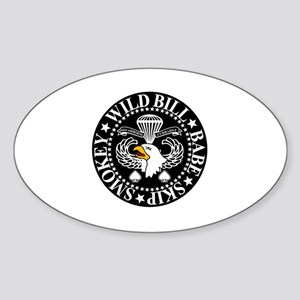 Band of Brothers Crest Sticker (Oval)