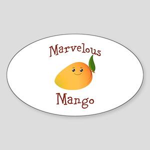 Marvelous Mango Sticker