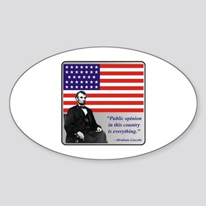 Lincoln Sticker (Oval)