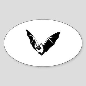 Bat Sticker (Oval)