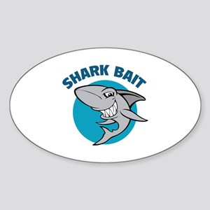Shark bait Sticker (Oval)