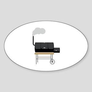 Barbeque Smoker Sticker