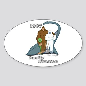 1967 Family Reunion Oval Sticker