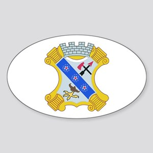DUI - 1st Bn - 8th Infantry Regt Sticker (Oval)