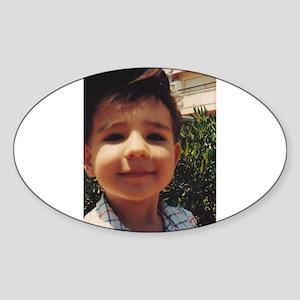 Vintage Retro Cute Boy Sweet Smiling Child Sticker