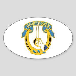 DUI - 7th Cavalry Regiment ,3rd Squadron Sticker (