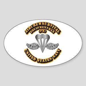 Navy - Rate - PR Sticker (Oval)