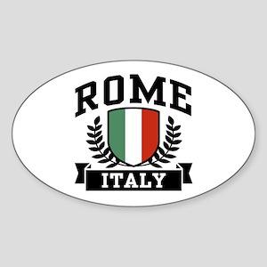 Rome Italy Sticker (Oval)