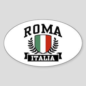 Roma Italia Sticker (Oval)