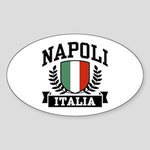 Napoli Italia Sticker (Oval)
