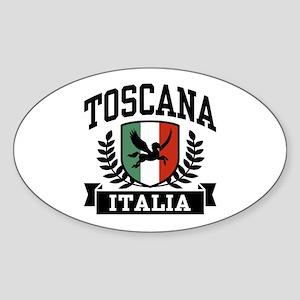 Toscana Italia Sticker (Oval)