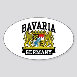 Bavaria Germany Sticker (Oval)