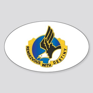 DUI - 101st Airborne Division Sticker (Oval)