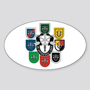 Special Forces Sticker (Oval)