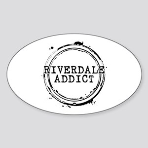 Riverdale Addict Stamp Oval Sticker