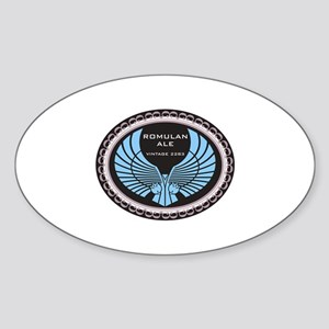 Romulan Ale Sticker (Oval)