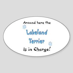 Lakeland Charge Oval Sticker