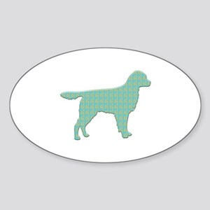 Paisley Staby Oval Sticker