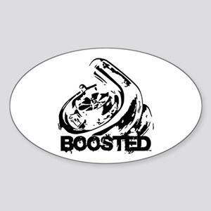 Boosted Sticker (Oval)