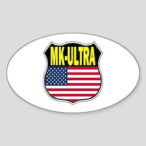 PROJECT MK ULTRA Sticker (Oval)