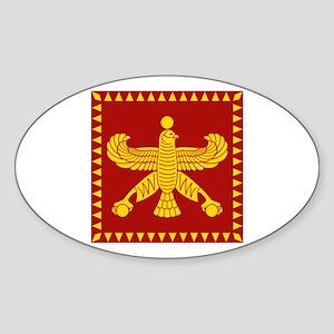 Cyrus the Great Persian Standard Flag Sticker (Ova