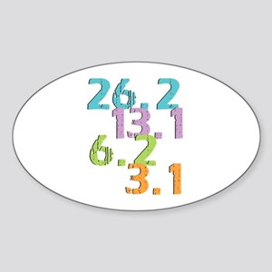 runner distances Sticker