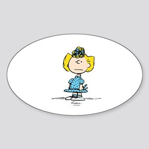 Sally Brown Sticker (Oval)